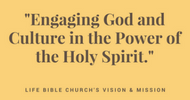 ENGAGING GOD AND CULTURE