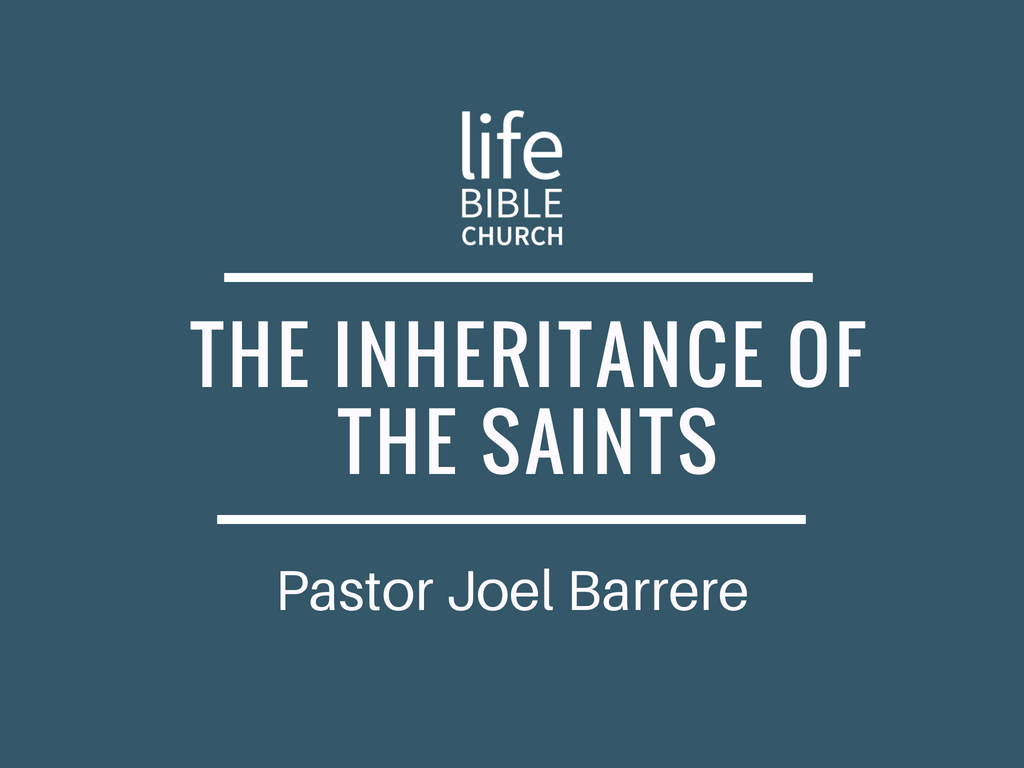 The Inheritance of the Saints Image