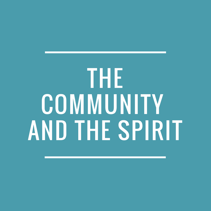 THE COMMUNITY AND THE SPIRIT - SOCIAL MEDIA