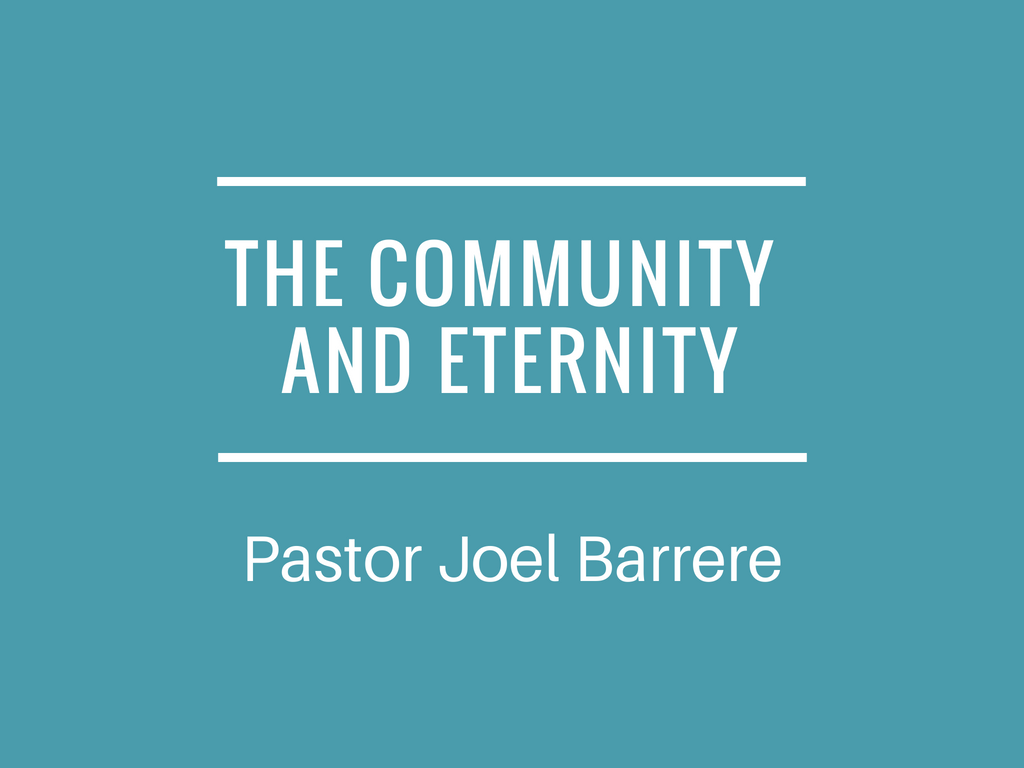 Community and Eternity Image