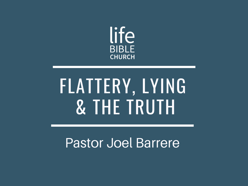 Flattery, Lying and the Truth Image