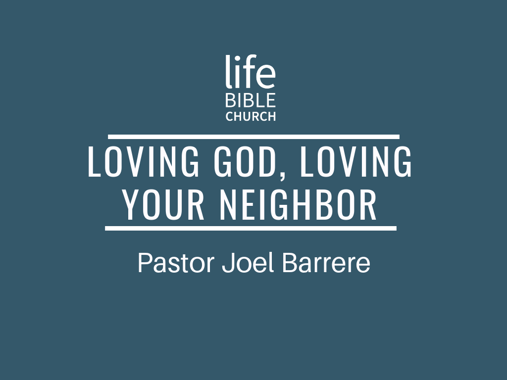 Loving God, Loving Your Neighbor Image