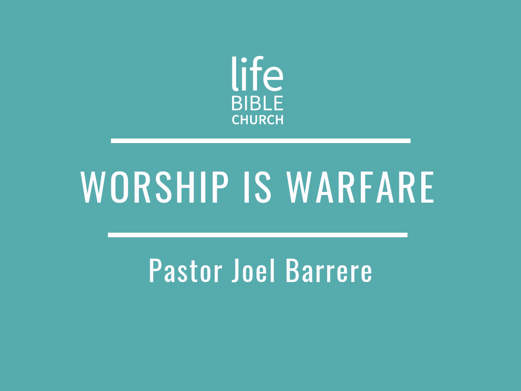 Worship is Warfare Image