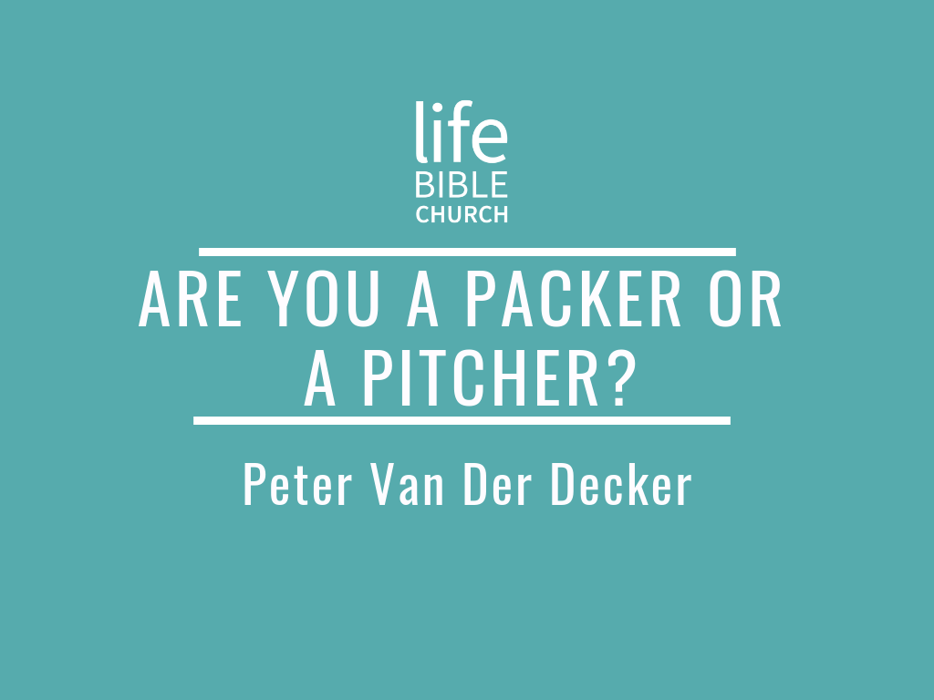 Are You a Packer of a Pitcher Image