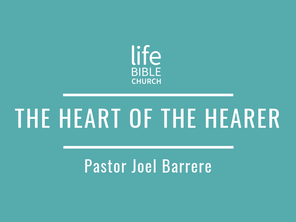 The Heart of the Hearer Image