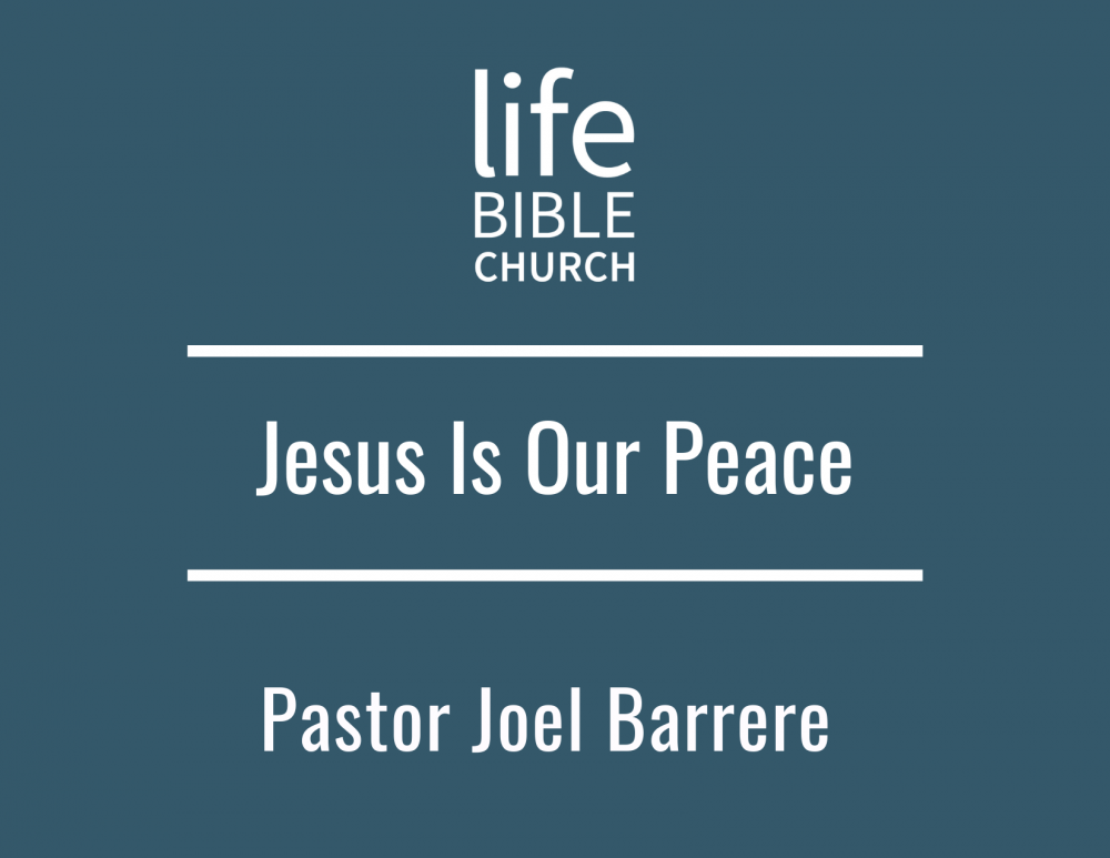 Jesus is Our Peace Image