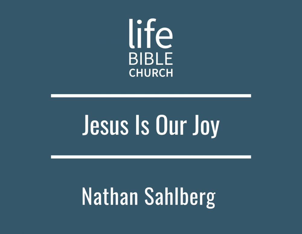 Jesus is Our Joy Image