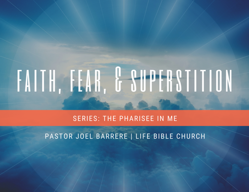 Faith, Fear and Superstition Image