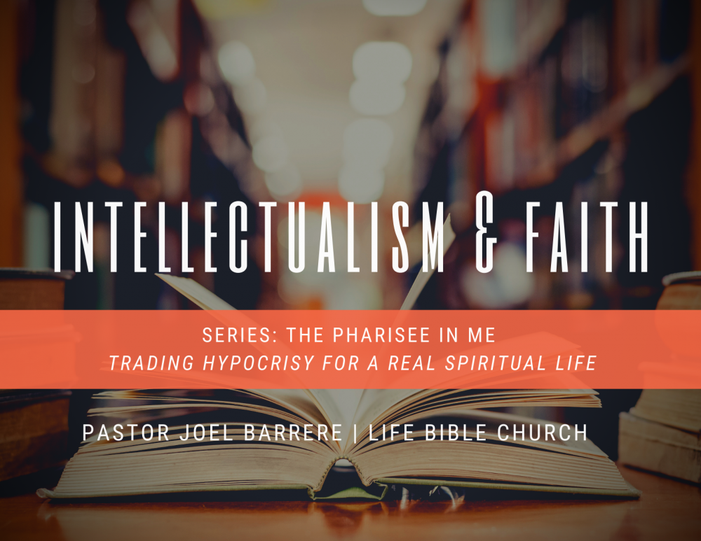 Intellectualism and Faith Image