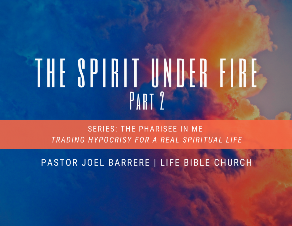 The Spirit Under Fire, Part 2 Image