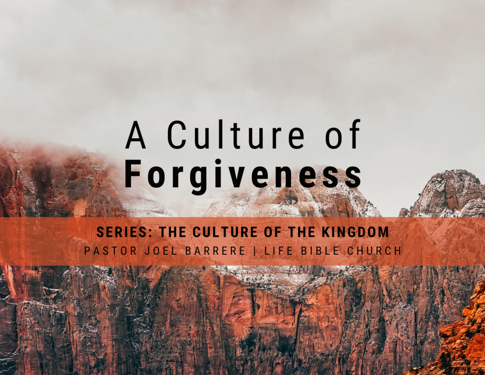 A Culture of Forgiveness Image