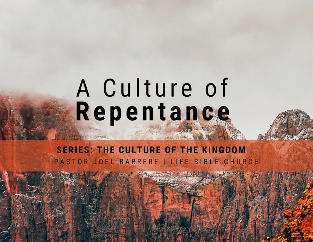 A Culture of Repentance Image