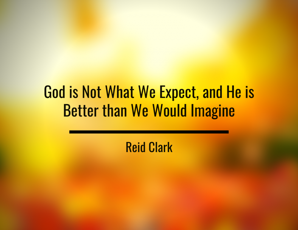 God Is Not What We Expect Image