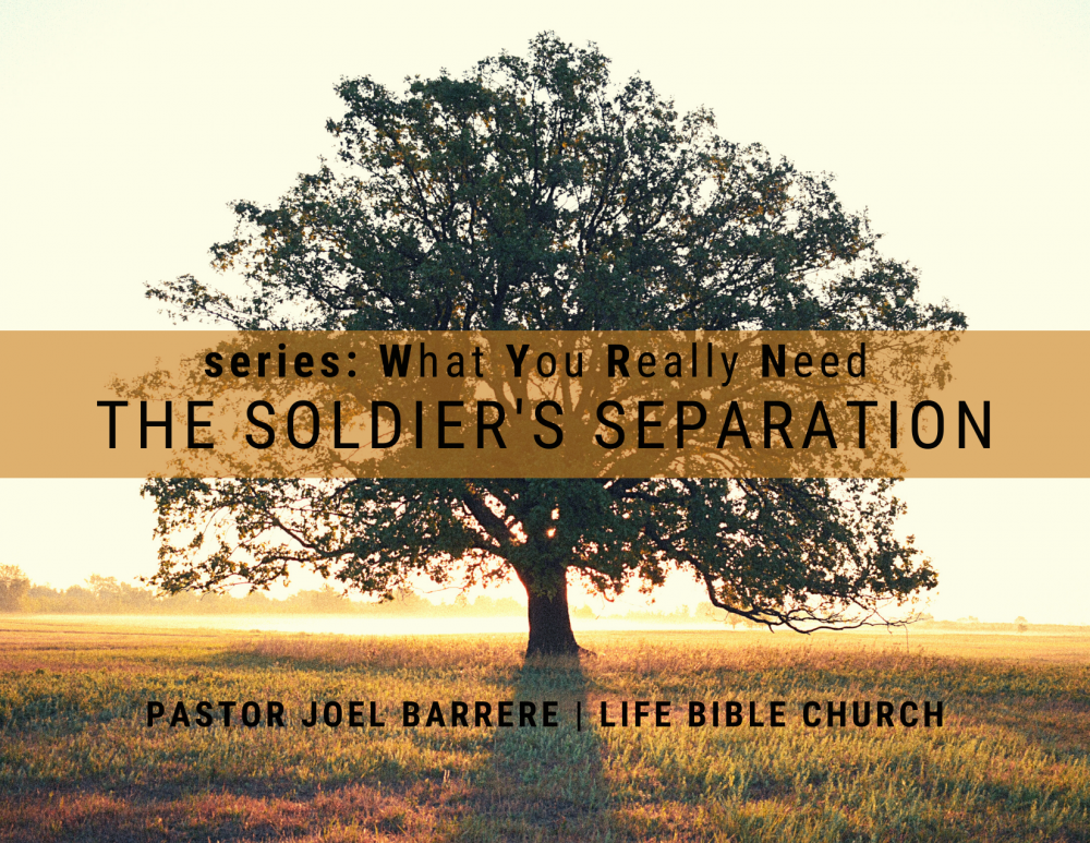 The Soldier\'s Separation