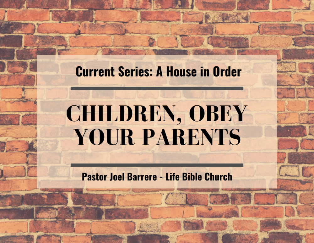 Children, Obey Your Parents Image