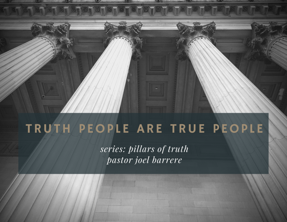 Truth People Are True People Image