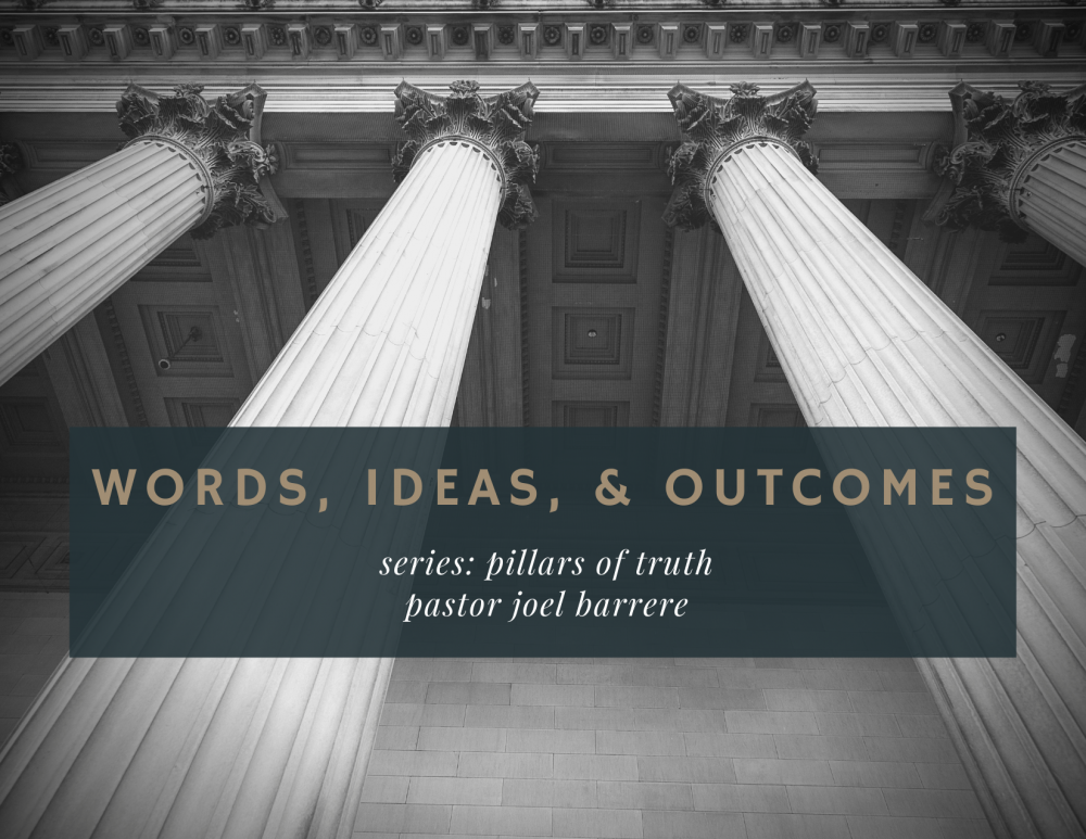 Words, Ideas, & Outcomes Image