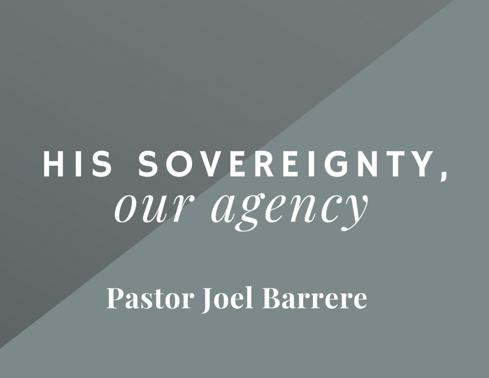 His Sovereignty, Our Agency Image
